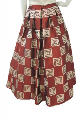 CARLSON BROCHETTE SKIRT