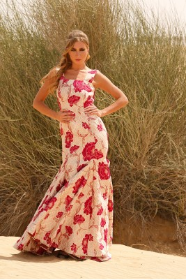 NANCY NINA TUBE GOWN